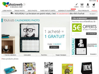 Photoweb.fr : Tirage photo en ligne